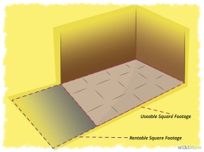usable square footage